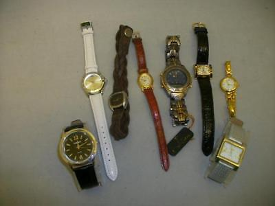 Job lot of ladies and gents wrist watches - 8 in total  (0397-MY)
