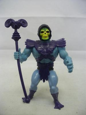Vintage 1980's Mattel Masters Of The Universe Figure Skeletor (0201 B-MPC)