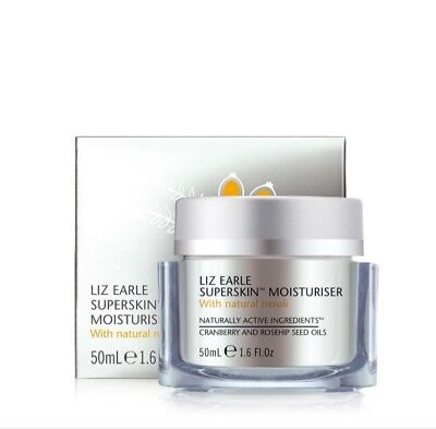 Brand New Liz Earle Superskin Mosturizer With Natural Neroli 50ml new