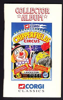 Corgi Chipperfields Circus Collector Album with cards