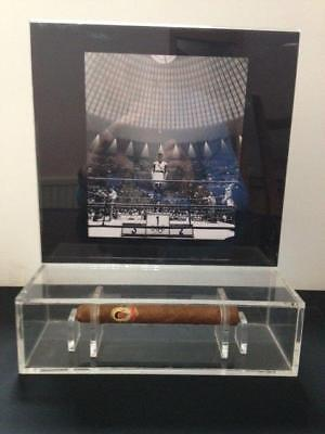 CASSIUS CLAY 1961 CARASO CIGAR DISPLAY Exhibited at ALI Museum 1 of only 3