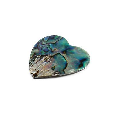 P422.  mhgp90 Abalone Heart Cabochon Approx 40mm