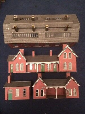 Job Lot Of Metcalfe Station Buildings And A Large Engine Shed