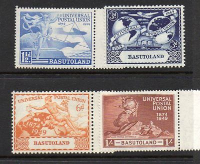 Basutoland  Kgvi  1949  Upu Mint Hinged Set Of 4