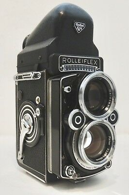 Relisted - Rolleiflex Double Lens Reflex Camera with Eye Level Viewfinder