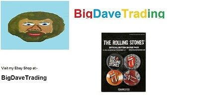 Rolling Stones Button Badge Pack