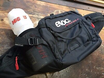Evoc Race 3L Hip Pack Waist Pack Bag Cycling Mtb & Road Black New Without Tags