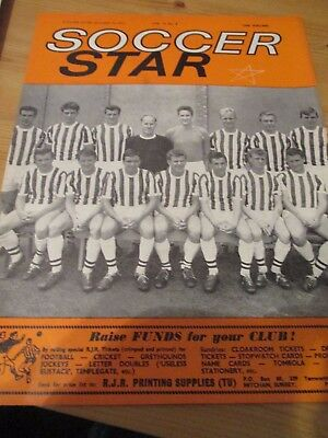 1963 West Bromwich Albion WBA West Brom team picture Soccer Star cover page