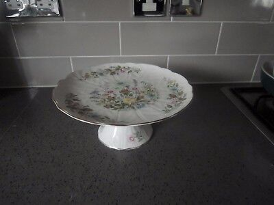 Aynsley  Wild Tudor  Footed Cake Stand