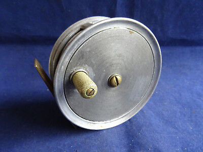 "A Vintage 3 1/2"" Milward Olympic Pattern 1 Trout Fly Reel"