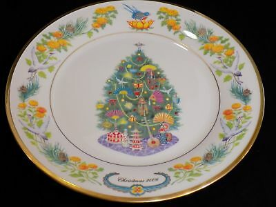 Lenox Christmas Trees Around The World Collector Plate 2006 Japan-New NO BOX