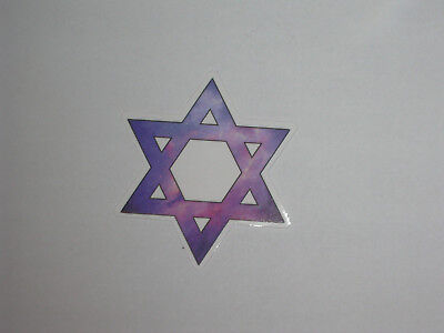 Autocollant Sticker Pentacle 6 Branches