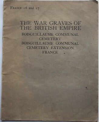 WW1-Great War-Military-Army-Soldier-Graves-British Empire-Boisguillaume-France