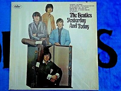 The Beatles Yesterday And Today Second State Butcher Cover In Shrink