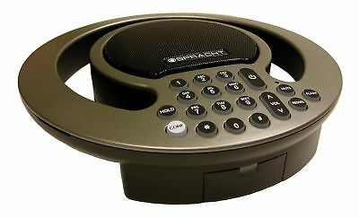 Spracht AURA SOHO Full-Duplex Analog Conference Phone with Expanded Capability: