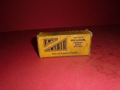 Vintage Picador Packing Blox,  A set in the original packing.  Fig. 205/6