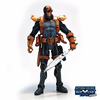 """JLA new 52 DEATHSTROKE 6"""" Action Figure DC Direct Toys Collectibles Comics loose"""