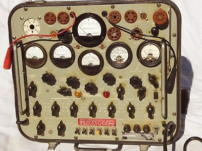 TV-2 Military Tube Tester - Works well  but should recap & recalibrate