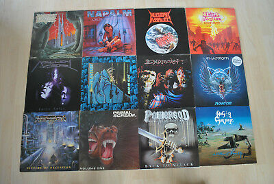 "Vinyl Schallplattensammlung "" Heavy Metal / Speed / Trash """
