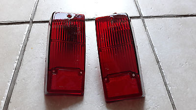 Genuine Classic Mini Cooper S Mk2 Mk3 Red Continental Export Tail Lenses 1275Gt