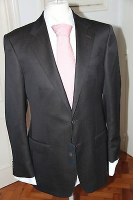 Auth. Gianni Versace Couture Dark Brown Suit Size 52R