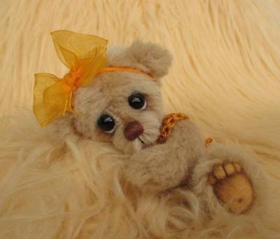 Elissa  OOAK Original Hand Sewn Collectable Artist Bear by Joxy Bears