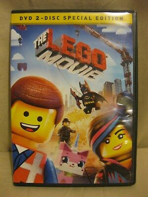 The LEGO Movie (DVD, 2014, 2-Disc Set, Special Edition) 100% Tested