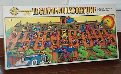 Vintage Toys Board Game Le Chateau Lafortune Full House French Version Complete