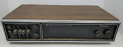 Vintage Panasonic IC FET FM/AM 4 Channel Stereo Receiver Model RE-7750A