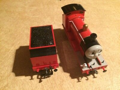HO SCALE BACHMANN James And Tender From Thomas The Tank Engine ...