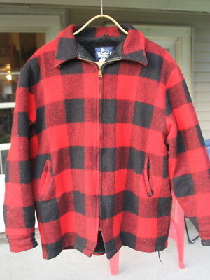 Vintage WOOLRICH Style 16010 Mackinaw Classic-Look Size XXL Hunting Jacket