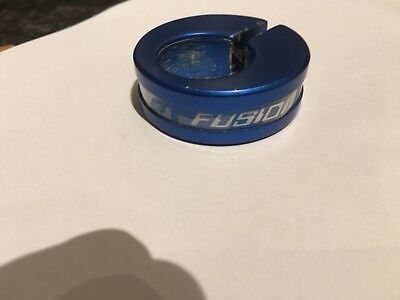 Haro Fusion BMX Seat Post Clamp Fits 22.2 Post. Mid,Old,School Rare Blue