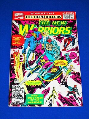 THE NEW WARRIORS Annual Issue #2 [Marvel 1992] NM- or Better