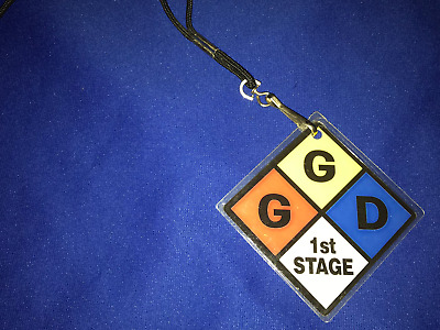 T vintage 1999 Goo Goo Dolls Dizzy Up the Girl BACKSTAGE PASS CONCERT LAMINATE