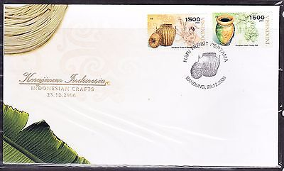 Indonesia 2006 - Indonesian Crafts  First Day Cover