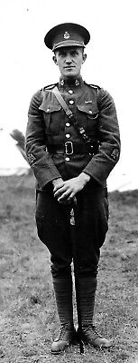 post WW1 WWI Canadian soldier @ Sussex Camp, NB, 1938 CAMC - Head of Millstream