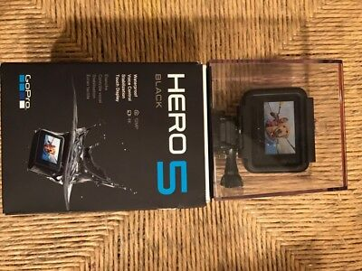 GoPro Hero 5 Black 4K Action Camera CHDHX-501 Brand New and Factory Sealed