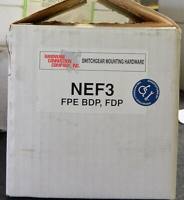 Federal Pacific NEF3 Twin Mounting Hardware Kit KBPD BDP FDP NEF breaker kit