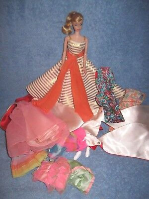 Vintage Swirl Barbie Doll + Holiday Dance Outside Art Show Magnificence More +++