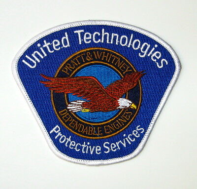 United Technologies Protective Services Patch Pratt & Whitney Security Patch