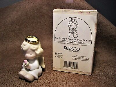 """Rare!  Precious Moments  # 283444"""" For An Angel You're So Down To Earth""""  MIB"""