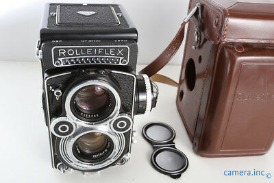 Rolleiflex 3.5F Type 3 Twin Lens Camera w/ Zeiss Planar 75mm 3.5 TLR *MINTY*
