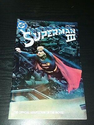 superman 3 the official adaptation of the movie comic