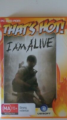 I AM ALIVE Windows PC DVD-ROM game