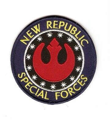 + STAR WARS Aufnäher Patch NEW REPUBLIC SPECIAL FORCES Expanding Universe