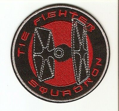+ STAR WARS Aufnäher Patch TIE FIGHTER SQUADRON