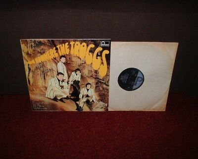 TROGGS From Nowhere 1st LP 1966 FONTANA MONO 1st Press!! FLIPBACK COVER!!!!