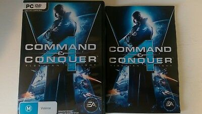 COMMAND & CONQUER 4 - TYBERIAN TWILIGHT Windows PC DVD-ROM game