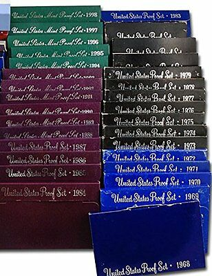 1968-1998 First 31 Year United States Proof Sets Complete Set San Francisco Mint