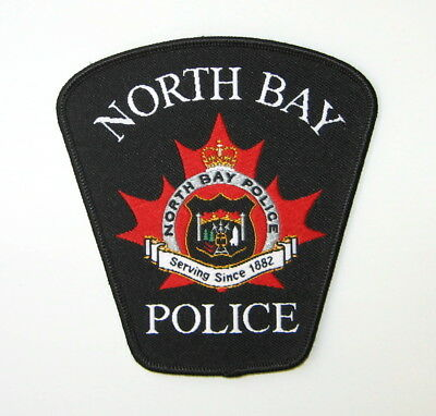 North Bay Ontario Police Patch Canada Canadian Police Patch